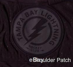 TAMPA BAY LIGHTNING size 54 = XL Alternate 3rd Style ADIDAS NHL HOCKEY JERSEY