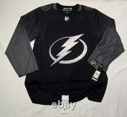 TAMPA BAY LIGHTNING size 60 = 3XL Alternate 3rd Style ADIDAS NHL HOCKEY JERSEY