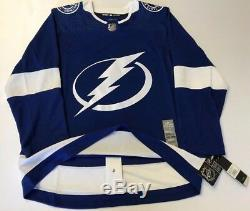 TAMPA BAY LIGHTNING sz 56 2XL Home style ADIDAS NHL HOCKEY JERSEY Authentic usa