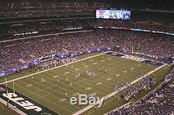 TWO Tickets -NEW YORK GIANTS VS GREEN BAY PACKERS- ROW 22- SEC. 320+ PARKING PASS