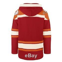 Tampa Bay Buccaneers'47 Brand Mens Lacer Hooded Jersey Sweatshirt