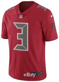 Tampa Bay Buccaneers Jameis Winston Color Rush Jersey Size M Limited Red $150
