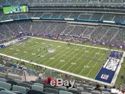 Tampa Bay Buccaneers @ New York Giants- 2 tickets- Mon. 11/2/20-Sec. 334, Row 26