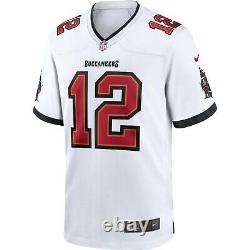 Tampa Bay Buccaneers Tom Brady #12 Nike Men's Official NFL Player Game Jersey