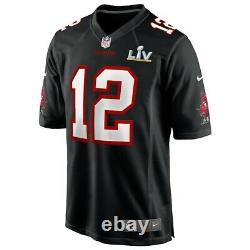 Tampa Bay Buccaneers Tom Brady #12 Nike Super Bowl LV Bound NFL Game Jersey