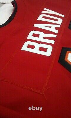 Tampa Bay Buccaneers Tom Brady Nike Elite Vapor football jersey 52