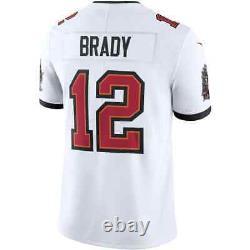 Tampa Bay Buccaneers Tom Brady Nike Limited Jersey White Size L Men's