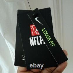 Tampa Bay Buccaneers Tom Brady Super Bowl LV 55 Patch Jersey Nike White NWT