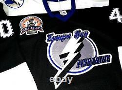 Tampa Bay Lightning 2004 Stanley Cup Patch Commemorative NHL Stats CCM Jersey