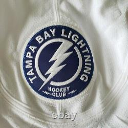 Tampa Bay Lightning 2011-2016 Authentic Team Issued Away Reebok Edge 2.0 Jersey