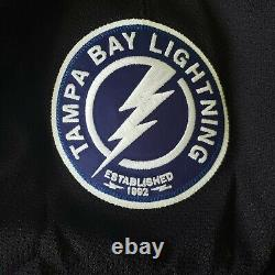 Tampa Bay Lightning 2014-17 Authentic Team Issued Reebok Edge 2.0 Third Jersey