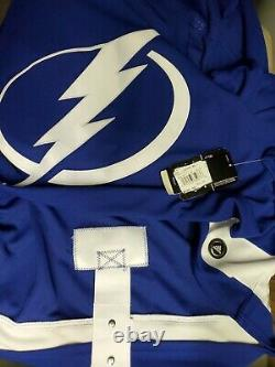 Tampa Bay Lightning ADIDAS Authentic NHL Jersey BLUE size 60 BRAND NEW size 3XL