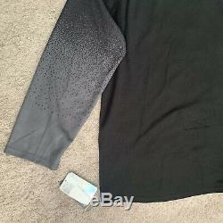 Tampa Bay Lightning Adidas Alternate Authentic Jersey Hockey Black Grey sz 52