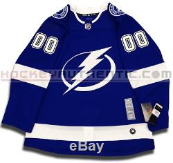Tampa Bay Lightning Any Name & Number Adidas Adizero Home Jersey Authentic Pro