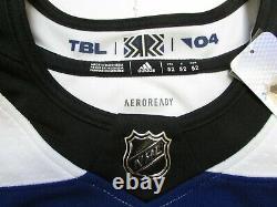 Tampa Bay Lightning Authentic Adidas Reverse Retro Hockey Jersey