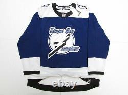 Tampa Bay Lightning Authentic Adidas Reverse Retro Hockey Jersey Size 54