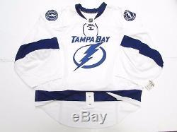 Tampa Bay Lightning Authentic Away Reebok Edge 2.0 7287 Jersey Goalie Cut 60