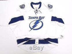 Tampa Bay Lightning Authentic Away Team Issued Reebok Edge 2.0 7287 Jersey Sz 56