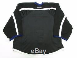 Tampa Bay Lightning Authentic Black Third Reebok Edge 2.0 Jersey Goalie Cut 60