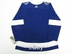 Tampa Bay Lightning Authentic Home Pro Adidas NHL Hockey Jersey Size 60