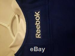 Tampa Bay Lightning Authentic Reebok Jersey Blank Brand New with Tags Size 46