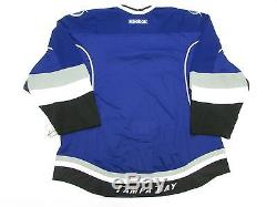 Tampa Bay Lightning Authentic Third Team Issued Reebok Edge 2.0 7287 Jersey 56