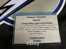 Tampa Bay Lightning Autographed Dwayne Roloson Jersey