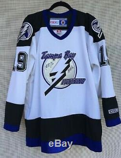 Tampa Bay Lightning Brad Richards/Marty St. Louis Autographed Jersey L New