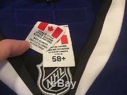 Tampa Bay Lightning Goalie Cut 58+ G Pro Jersey 3rd Style Ben Bishop Size New