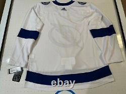 Tampa Bay Lightning NHL Adidas Authentic Hockey Jersey Sz 54 NWT RARE