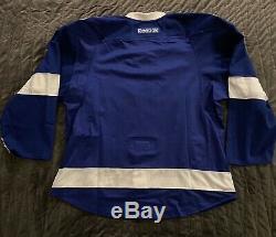 Tampa Bay Lightning Pro Stock Jersey Size 56