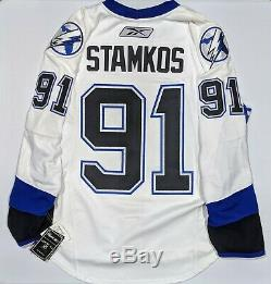 Tampa Bay Lightning Reebok Edge 1.0 NHL Hockey Jersey NWT Steven Stamkos 52