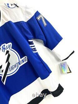 Tampa Bay Lightning Reverse Retro #77 Victor Hedman Jersey Size Large/ 52 Adidas