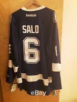 Tampa Bay Lightning Sami Salo 3XL jersey NWT, anniversary patch