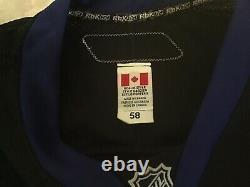 Tampa Bay Lightning Vintage Black Pro Goalie Jersey CCM New W Tag Vintage 58G
