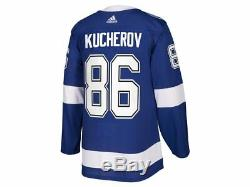 Tampa Bay Lightning adidas Nikita Kucherov Authentic Pro Jersey Blue M