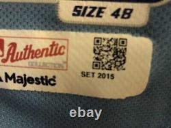 Tampa Bay Rays Jersey Logan Forsythe Signed Stitched 2015 48 Mlb Mens Baseball