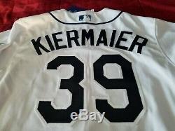 Tampa Bay Rays Kevin Kiermaier Majectic Home Flex Base Jersey Size 40/M