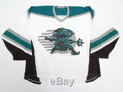 Tampa Bay Tritons Authentic CCM Roller Hockey Jersey Size 56 Rare