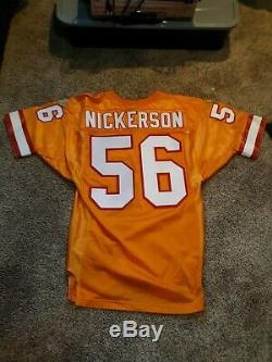Tampa bay Buccaneers vintage authentic jersey throwback size 44 hardy nickerson