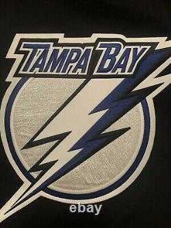 Tampa bay Lightning Jersey Reebok Edge Size 58G NWT