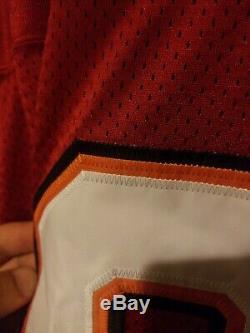 Tampa bay buccaneers throwback jersey warren sapp size 60