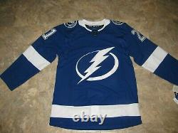 Tampa bay lightning official adidas POINT jersey-Size 46