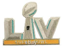 Tom Brady #12 Tampa Bay Buccaneers MEDIUM 2021 Super Bowl LV White Jersey