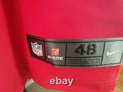Tom Brady Auto Tampa Bay Buccaneers Red Elite Jersey 7x Champ 5x MVP Inscription