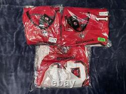 Tom Brady Nike NFL Vapor Limited Tampa Bay Buccaneers Red Home Jersey
