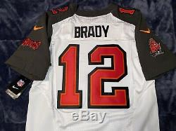 Tom Brady Tampa Bay Buccaneers Elite AUTHENTIC 2019 Jersey NON-CUFFED SLEEVE 44