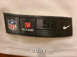 Tom Brady Tampa Bay Buccaneers Elite AUTHENTIC White Jersey Size 52 +C PATCH