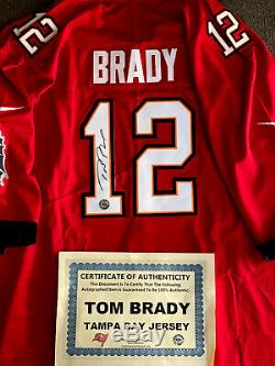 Tom Brady Tampa Bay Buccaneers Jersey. Autograph Signed. NWT. COA. The GOAT