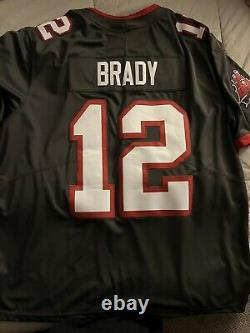 Tom Brady Tampa Bay Buccaneers Jersey Nike Alternate Vapor Pewter XXL New